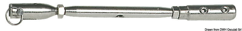 Osculati Turnbuckle Aisi 316 For Parafil Cable 7 mm