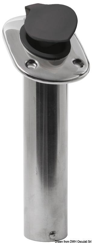 Portacanne incasso inox 42 mm 60° Osculati 41.211.70-4121170