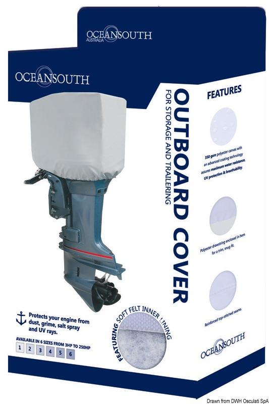 Coprimotore Oceansouth 175-250 HP 2//4 tempi grigio 46.537.07