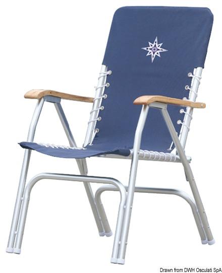 osculati sedia pieghevole deck 4835305