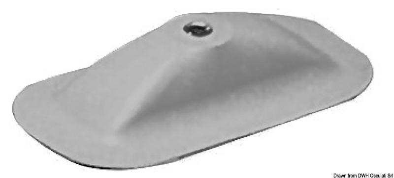 Osculati Flagpole Base 25mm X Hose 25mm