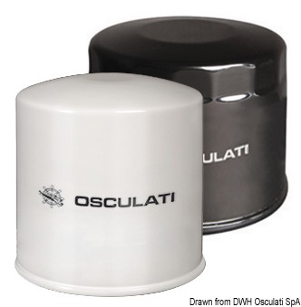 OSCULATI Filtro Olio Yamaha 5GH-13440-20 e Honda 50 HP