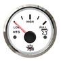 Indicatore acque nere 10/180 Ohm bianco/lucida