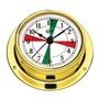 Barigo Tempo S chromed hygro-teirmiméadar