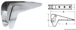 Musone speciale inox per Bruce/Trefoil max 10 kg