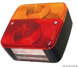 Fanale posteriore SX 4 funzioni 2 lampadine