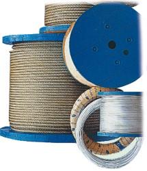 Žične vrvi AISI 316 19-žični 12 mm