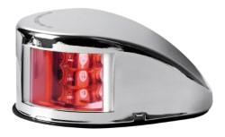 Fanale di via Mouse Deck rosso corpo inox