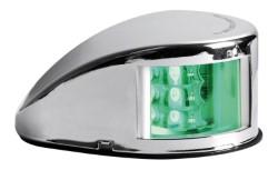 Fanale di via Mouse Deck verde corpo inox