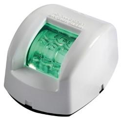 Fanale di via Mouse verde corpo ABS bianco