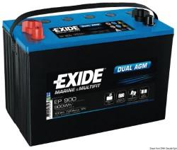 Batteria Exide agm 100 Ah