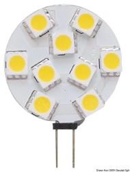 Lampadina LED SMD G4 12/24 V attacco laterale