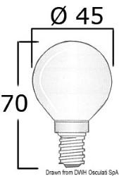 Lampadina 12 V 40 W E14