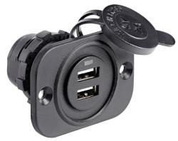 Podwójne gniazdo USB