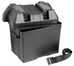 Cassetta portabatteria in polipropilene