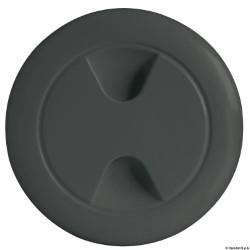 Tappo ispezione nero 102 mm