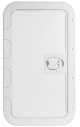 White Inspection Hatch Anti-Slip sufrace Osculati Portello esterno Bianco 280 x 380 mm