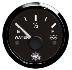 Indicatore livello acqua 10-180 Ohm nero/nera