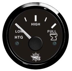 Indicatore acque nere 10/180 Ohm nero/nera