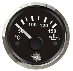 Indicatore temperatura olio 50/150° nero/lucida