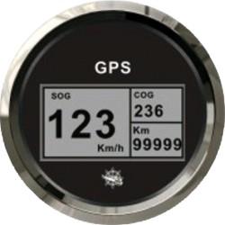 Log con bussola e totalizzatore GPS nero/lucida