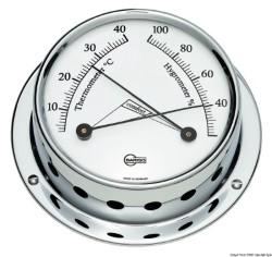 Igro/termometro Barigo Tempo S cromato