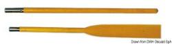 Remo faggio per canotti 165 cm