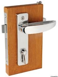 Serratura per WC e cabine Destra Interna, Sinistra Esterna