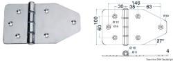 Maxi cerniera 180x100 mm