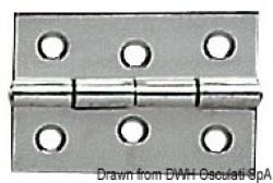 Cerniera inox mm 60x40