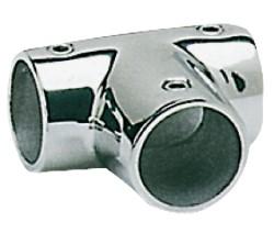Giunto inox T 90° 22 mm