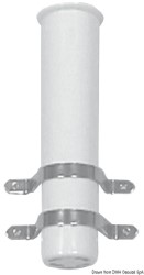 Portacanne parete bianco 41 mm