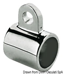 Manicotto inox mm 22