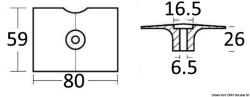 Anodo magnesio Yamaha 8/30 HP