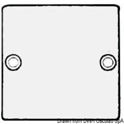 Anodo a placca rettangolare