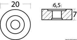 Anodo zinco Mercury a rondella