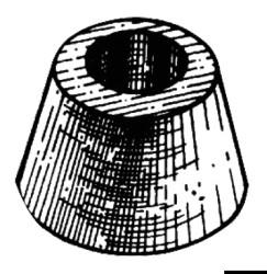 Anodo tronco conico VETUS
