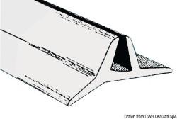 Profilo parabrezza nero