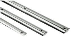 Profilo mezzo tondo inox mm 40 (barre da 3 m)