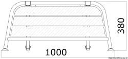 Stern plattform 1000 mm