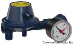 Regolatore pressione 30 mb con manometro