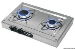 Два горелки плита, внешний