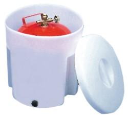 Contenitore per bombole gas RINA