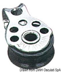 Microbozzello inox 1 puleggia 17x5