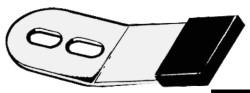 Linguetta fermatimone inox