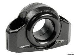 Passascotte nylon nero 9 mm