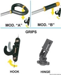 Stick Friend dritto 750/1043 mm