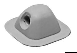 Меченый 96x96 мм серый